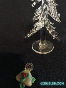 ガラス製クリスマスツリー